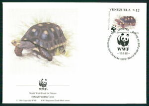 Le Venezuela Bijoux-fdc 1992 Wwf Faune Animaux Animals Tortue Turtle El90-afficher Le Titre D'origine
