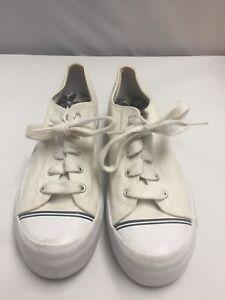 d12e7081a60 White KEDS Women s Size 8.5 Platform Canvas Sneakers