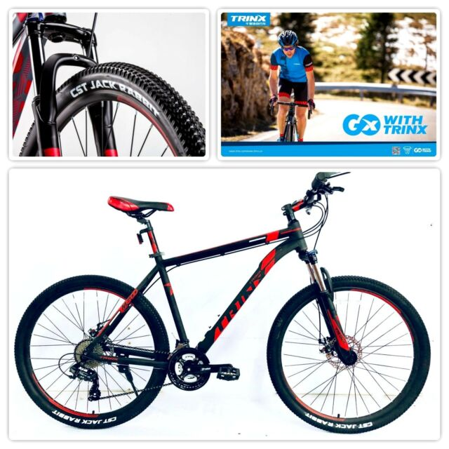 Trinx Mountain Bike 27.5 Wheels 20 Inch Frame 24 Shimano Gears Lock ...