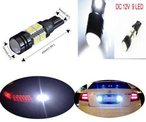 2 pcs Projector LED Reverse Light Bulbs T15 912 921 906 for Toyota Venza