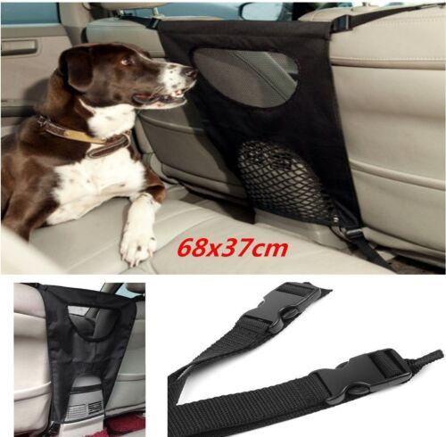 Auto Pet Barrier Net Blocks Dog Safety Device SUV Car Van Back Seat Barrier Mesh