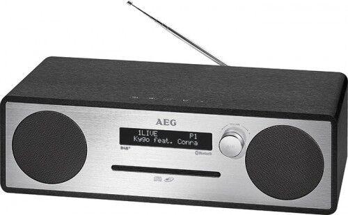 Stereoanlage mit DAB+ Radio, CD, MP3, Bluetooth, USB, AUX-IN AEG MC 4469 schwarz