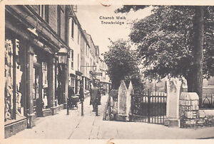 Postcard-Church-Walk-Trowbridge-Ref-B3