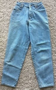 Vintage-Bill-Bass-Jeans-Womens-Size-6-Petite-Stone-Wash-Style-Jeans-High-Waist