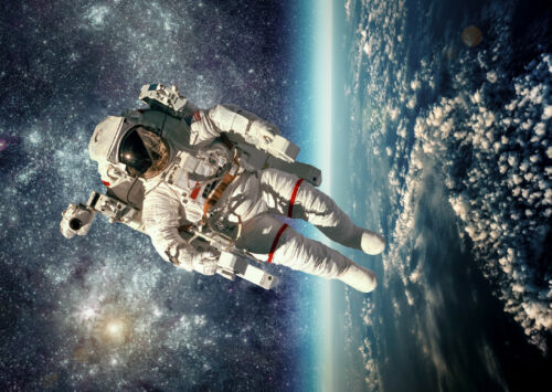 Astronaut Earth Space Stars Giant Poster Art Print A0 A1 A2 A3 A4 Sizes