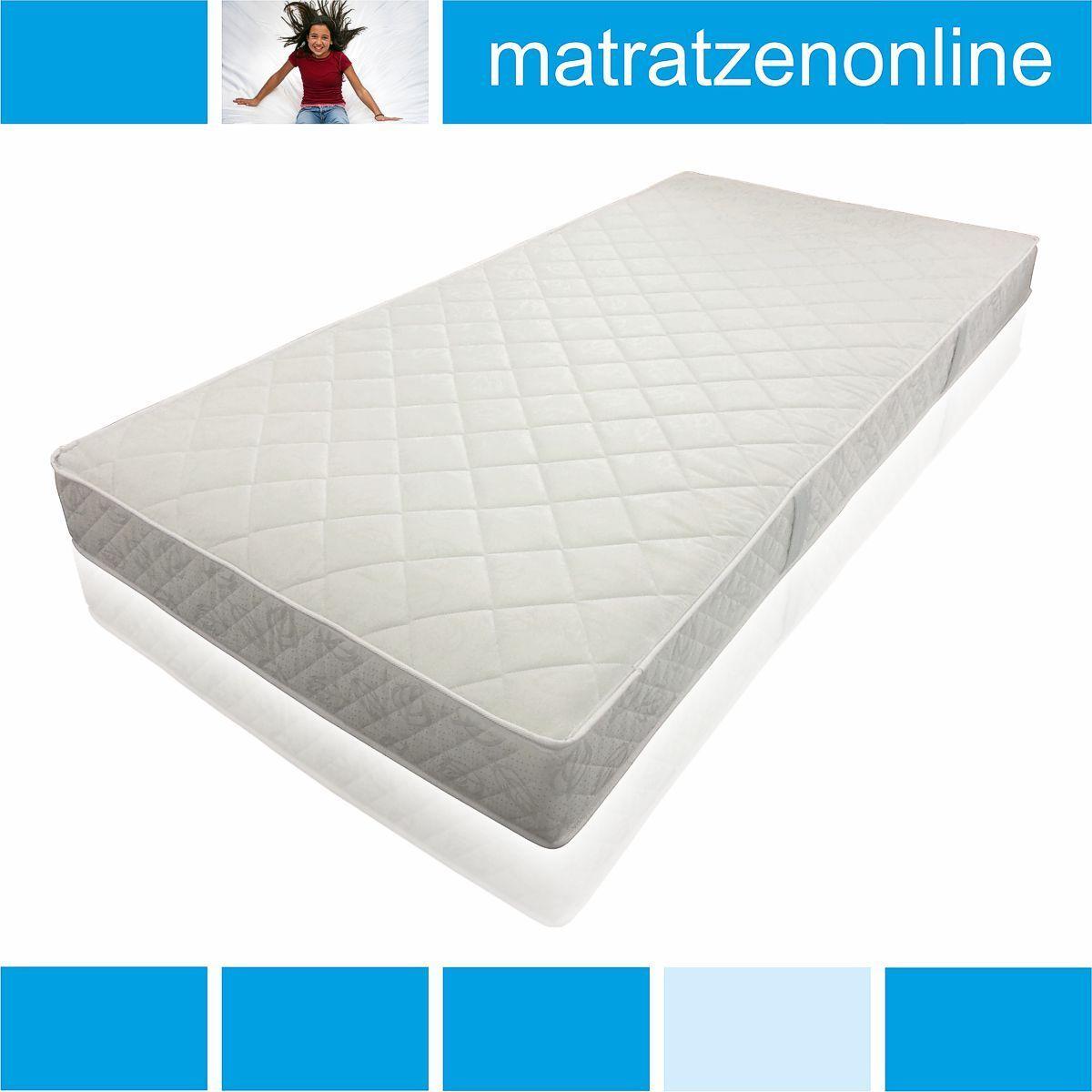 18 cm hohe Federkern Matratze - gut und günstig, tolles Angebot  Ideal