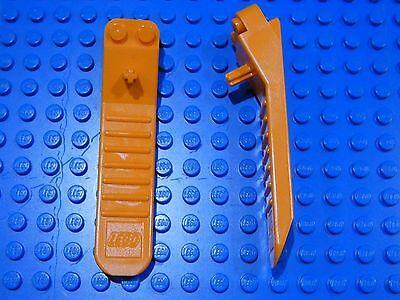 96874 31510 Lego x 10 Orange Brick /& Axle Separators Human Tool Parts Joblot