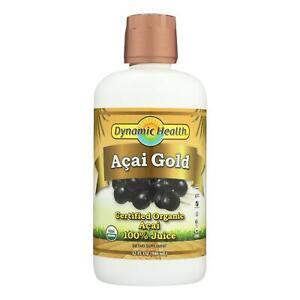 Dynamic Health Organic Acai Gold - 32 fl oz - USA Seller