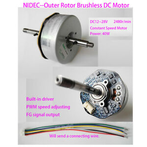 1pcs For Nidec DC24V External Rotor Motor Brushless Motor with Driver Board