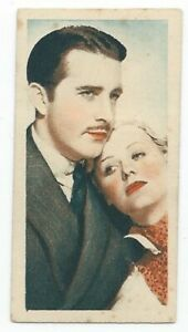 1934-Godfrey-Phillips-Film-Stars-Card-32-John-Boles-and-Gloria-Stuart