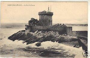 64-cpa-ST-JEAN-DE-LUZ-Le-fort-de-Socoa-i-4758
