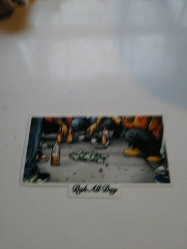 DGK SKATEBOARDS DIRTY GHETTO KIDS THE NEIGHBORHOOD DICE GAME SKATEBOARD STICKER