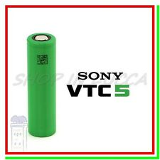 Batteria 18650 SONY VTC5 Pila Ricaricabile Litio 2600mAh 30A Li-ion Lithium vape