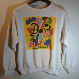 Vintage 90s Ken Done Sweatshirt Crewneck Ken Done Pullover Jumper Ken Done Full Print Ken Done Blue Colour M Size