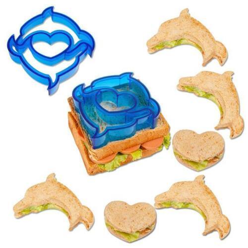 Lunch Sandwich Toast Cookies Baking Bread Biscuit Food Cutter Mold Gadget LP