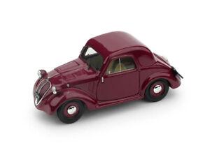 Coche-Modelo-Clasico-Diecast-Brumm-Fiat-500-500A-Topolino-escala-1-43-modellcar
