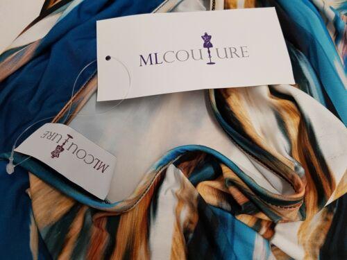 Marche Manu fu Lenz abito ml Couture Nuovo UVP 129 € Valigetta Abito Taglia 42 44 46 48 52 730