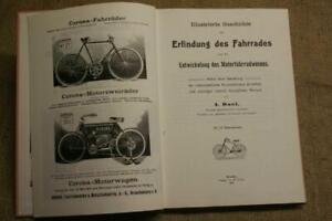 Sammlerbuch-Geschichte-Fahrrad-Motorrad-1906-NSU-Komet-Hochrad-Reprint-1990