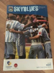 coventry city v sheffield wednesday programme 0506 - Sheffield, United Kingdom - coventry city v sheffield wednesday programme 0506 - Sheffield, United Kingdom