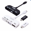 MHL-To-HDMI-Connection-Kit-USB-OTG-Card-Reader-MHL-Adapter-5-in-1-WHITE-COLOR thumbnail 1