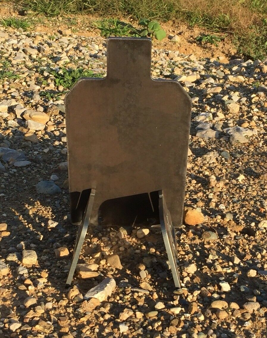 Portable AR500 IDPA IPSC Steel Shooting Target Gong Base Stand 1/4