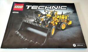 Bauanleitung-LEGO-Technic-42030-Volvo-Radlader-keine-Bausteine