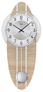AMS-7420-Wall-Clock-Sonoma-oak-Pendulum-Clock-New