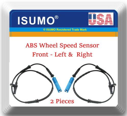 BMW 745i 745Li 760Li 02-03 2 x  ABS Wheel Speed Sensor Front left /& Right Fits