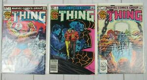 The-Thing-1-3-1983-Marvel-Comics-Lot-of-3-Comics