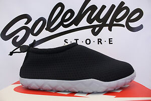 Details about NIKE AIR MOC ULTRA BR BLACK WOLF GREY 902777 001 SZ 7