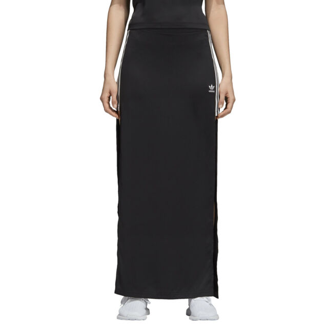 metà prezzo bella vista acquisto genuino ADIDAS Originals fashion League Satin Long Skirt Donna Gonna Lunga Maxi-Rock