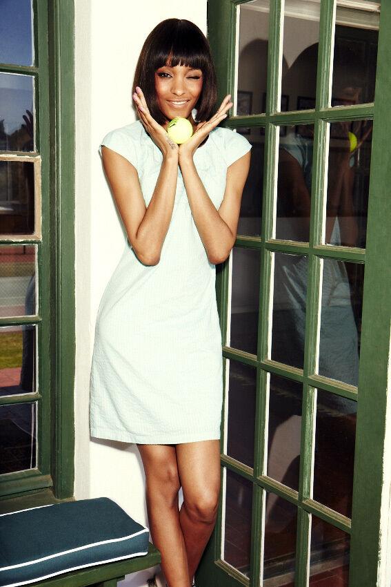 NEW Boden Pretty Cotton Dress Ivory Summer Broderie Bib Size US 10 L