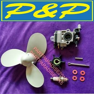 Details about hangkai 3 5HP 2 stroke chinese Outboard Motors engine parts  assembly engine