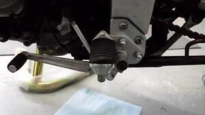 Black-DL650-DL1000-Vstrom-Control-Foot-Peg-Lowering-Plates-Rear-Set-DL-650-1000
