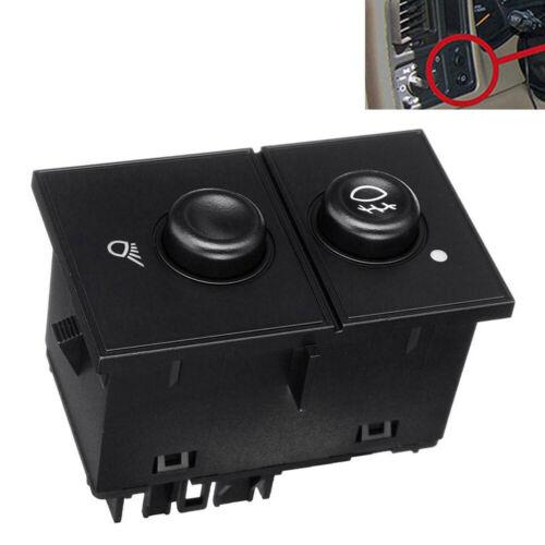 Fog Light /& Cargo Lamp Switch for Chevrolet Silverado Sierra Cadillac 15143597
