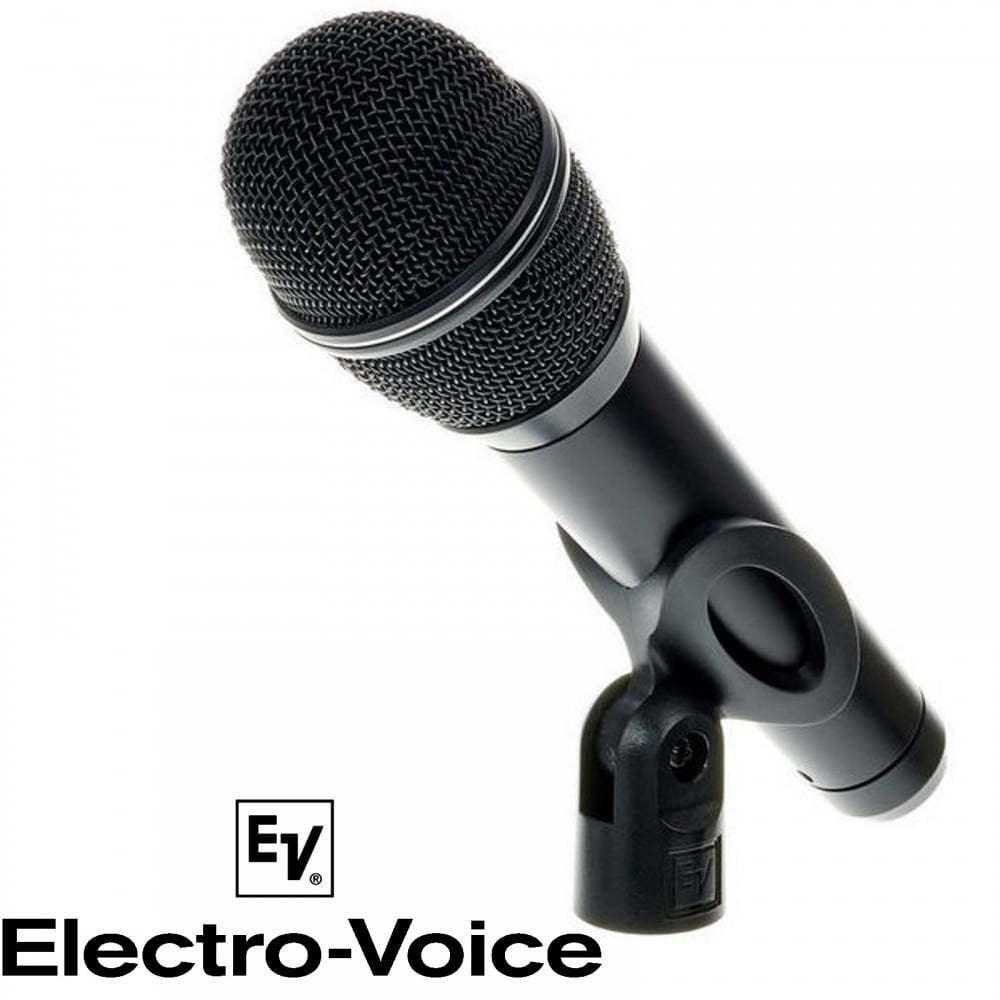 Electro-voice cardioide Micrófono vocal de de de rendimiento de plomo Inc Estuche Y Soporte De Micrófono 12e3d5