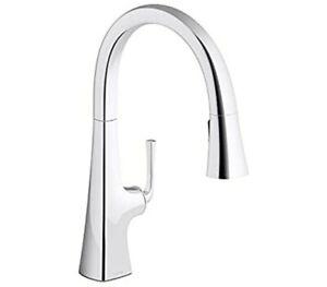 Kohler K 22062 Cp Graze Kitchen Sink Faucet Polished Chrome 439 885612820013 Ebay