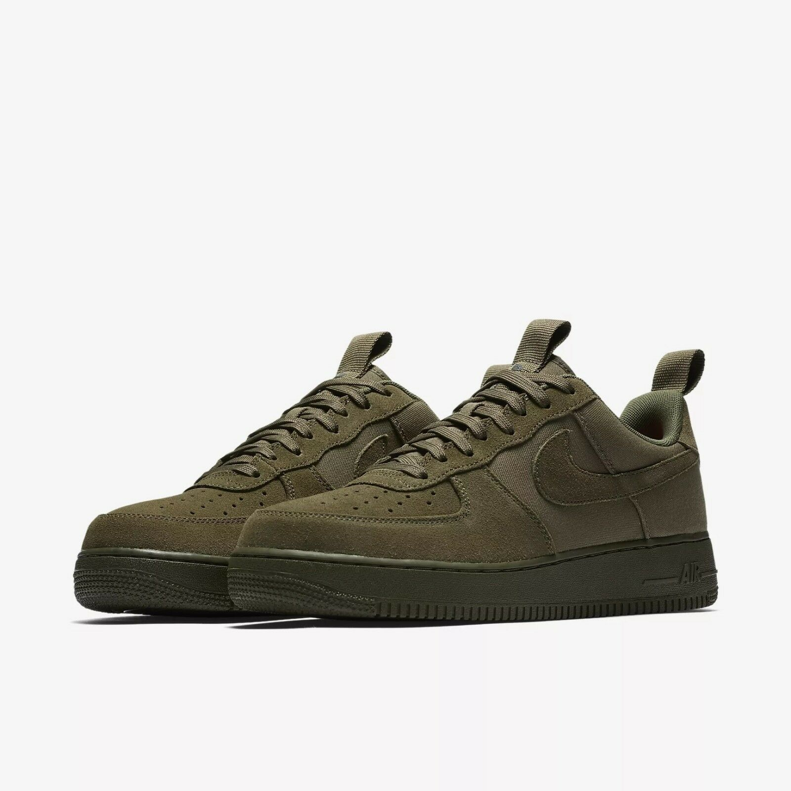 579927-200 Nike Air Obliger 1 '07 faible Canvas Lifestyle Olive/Sequoia Szs 8-12 NIB
