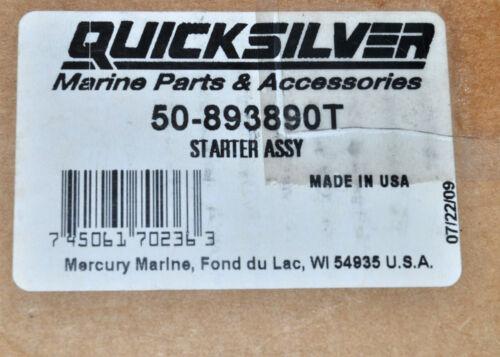 OEM Mercury O//B Starter Motor #50-893890T