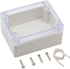Zulkit Junction Box Abs Plastic Dustproof Waterproof Ip65 Universal Electrical B