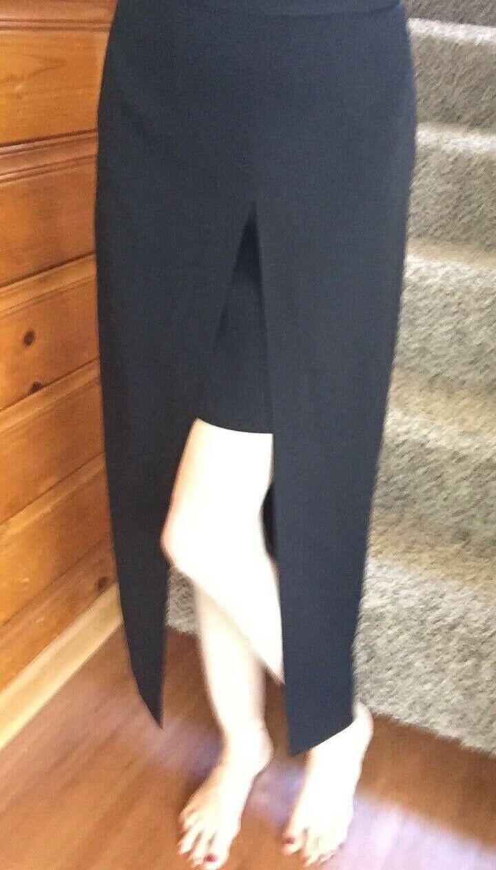 Dina Bar-El  Split Slit Skirt Sz 6 4 Cut out short long mini maxi