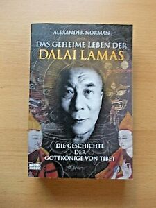 DAS-GEHEIME-LEBEN-DER-DALAI-LAMAS-von-Alexander-Norman-2009-TB-NEUwertig