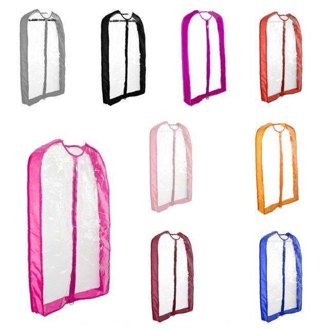 Dalix Clear Garment Bags 40 Transpa