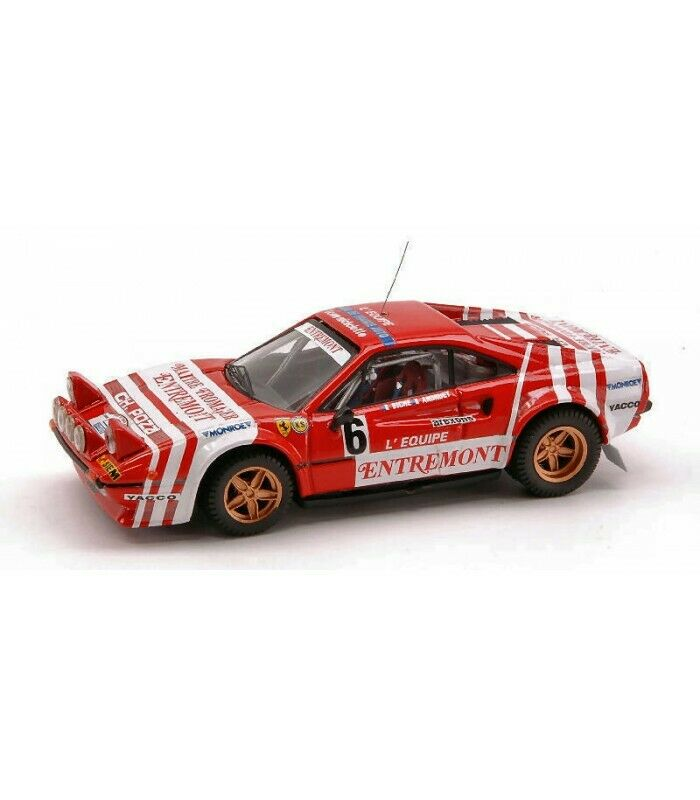 FERRARI 308 GTB N.6 WINNER TOUR DE FRANCE 1981 ANDRUET-BOUCHETAL 1 43