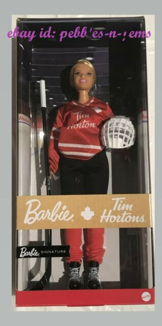 NEW 2020 Tim Hortons Collectible Barbie Hockey Player
