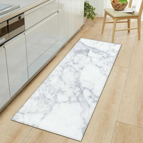 Waschbar Küchenteppich Marmorteppich Teppichläufer Läufer Küche Küchenläufer