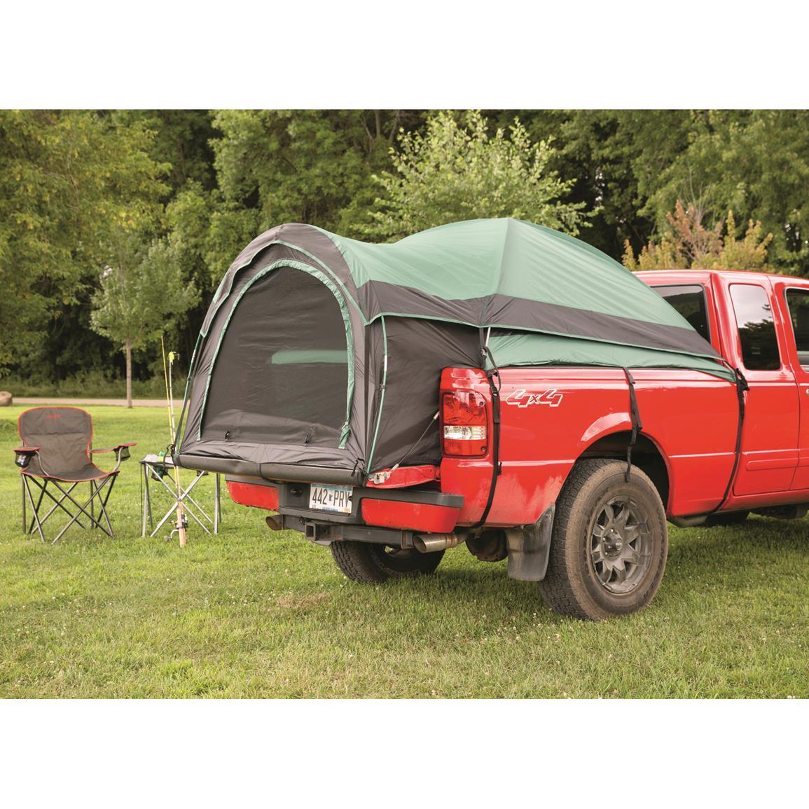 Compacto carpa de camión para camioneta Cama Camping de 72 a 74  Agua-Resist Camper