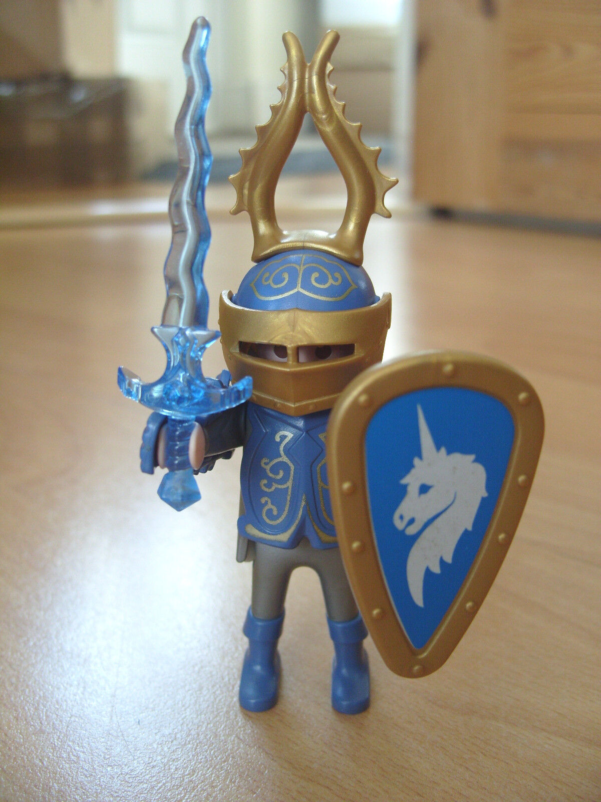 Playmobil lot complet 3977 Easter SPECIAL bleu & or Knight