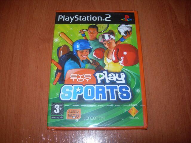 EYETOY PLAY SPORTS PS2 (PAL ESPAÑA PRECINTADO)