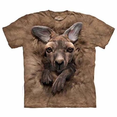 Baby Kangaroo NWT The Mountain 100/% Cotton Kid/'s T-Shirt